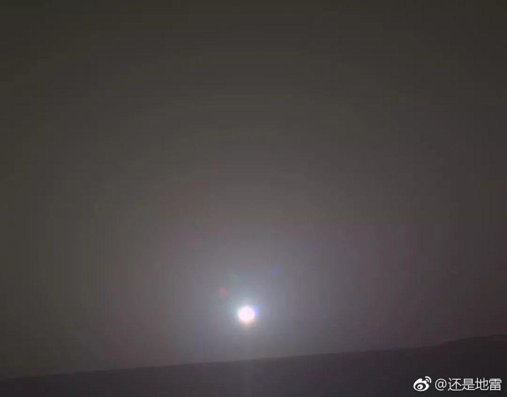 2018年2月15日,机遇号拍摄火星上的日出